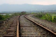 Estradas de ferro velhas Imagens de Stock Royalty Free
