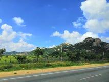 Estradas de Kerela fotografia de stock