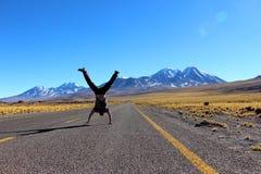 Estradas de San Pedro de Atacama foto de stock