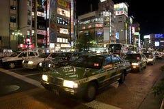 Estradas de Shinjuku Imagens de Stock Royalty Free