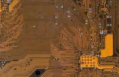 Estradas digitais da placa de circuito Imagens de Stock Royalty Free