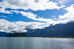 Estradas do Los Andes Fotos de Stock Royalty Free