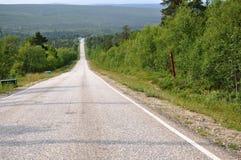 Estradas em Finlandia Fotos de Stock Royalty Free