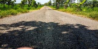 Estradas na natureza foto de stock