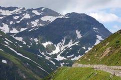 Estradas nas montanhas fotografia de stock