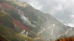 Estradas nas nuvens Fotografia de Stock