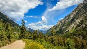 Estradas secundárias da parte traseira de Idaho fotos de stock royalty free