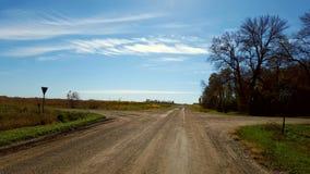 Estradas transversais Imagens de Stock Royalty Free