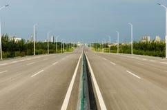 Estradas urbanas Fotos de Stock