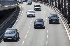 Estradas urbanas rápidas Imagem de Stock Royalty Free