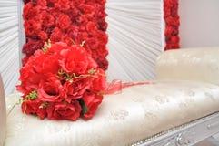 Estrade malaise de mariage Photos stock