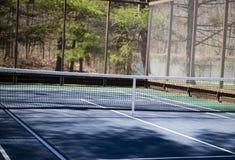 Estradowy tenisowy paddle sąd zdjęcia stock
