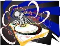 Estrangeiro DJ Imagens de Stock Royalty Free