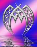 Estrangeiro do metal ilustração royalty free