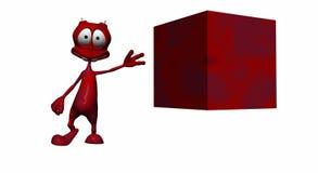 Estrangeiro dos desenhos animados Fotos de Stock