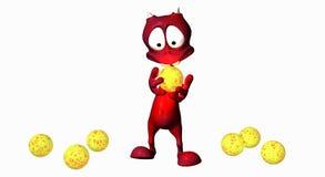 Estrangeiro dos desenhos animados Imagem de Stock Royalty Free