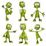 Estrangeiro dos desenhos animados Imagem de Stock