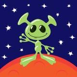 Estrangeiro em Marte Foto de Stock