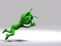 Estrangeiro - salto e mosca Imagem de Stock Royalty Free