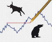 Estrangeiros do vetor e carta do comodity Imagem de Stock Royalty Free