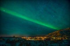 Estrangeiros? Não, aurora borealis Imagem de Stock Royalty Free