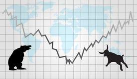 Estrangeiros ou fundo dos futuros Imagens de Stock Royalty Free