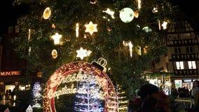 Estrasburgo Capital de Noel almacen de video