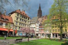 Estrasburgo colorida Foto de archivo libre de regalías