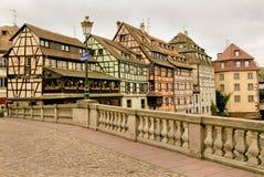 Estrasburgo en Alsacia, Francia Foto de archivo libre de regalías
