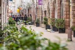 Estrasburgo Francia después de attentados terroristas en el mercado de la Navidad fotos de archivo