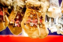 Estrasburgo, mercado de la Navidad - Francia imagenes de archivo