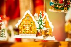 Estrasburgo, mercado de la Navidad - Francia foto de archivo libre de regalías
