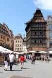 Estrasburgo que visita, Francia imágenes de archivo libres de regalías