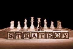 Estratégia Imagens de Stock