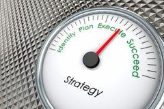 Estratégia das vendas Imagens de Stock Royalty Free
