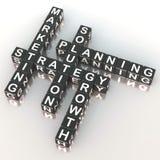 Estratégia de marketing Imagens de Stock Royalty Free