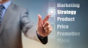 Estratégia de marketing Fotografia de Stock