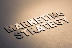 Estratégia de marketing foto de stock