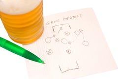 Estratégia do esporte Fotografia de Stock