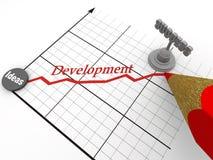 Estratégia do sucesso. 3d Imagens de Stock