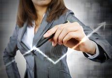 Estratégia do sucesso comercial Fotos de Stock Royalty Free