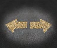Estratégia e decisões Imagens de Stock Royalty Free