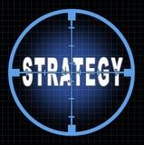 Estratégia e foco Imagens de Stock