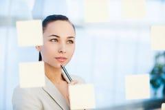 Estratégia empresarial do planeamento Fotografia de Stock Royalty Free