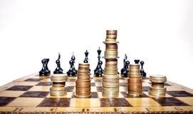 Estratégia financeira Imagens de Stock