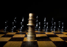 Estratégia financeira Imagens de Stock Royalty Free