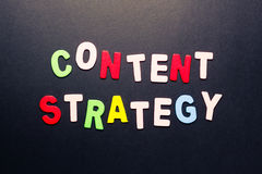 Estratégia satisfeita Imagem de Stock Royalty Free