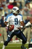 Estratega Steve McNair del NFL Foto de archivo
