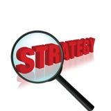 Estrategia Foto de archivo libre de regalías