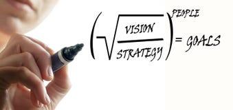 Estrategia Imagen de archivo